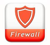 firewall button