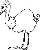 cassowary coloring pages - photo#36