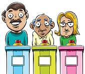Cartoon Contestants