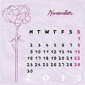 november 2015 flowers