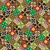 quilt pattern wallpaper variant