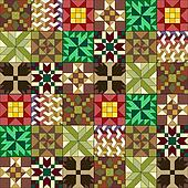 quilt pattern wallpaper