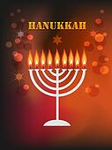hanukkah background.