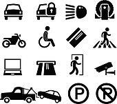 Car Park Parking Area Reminder