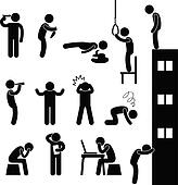 Man People Suicide Kill Depress Sad