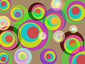 Background Color Indicates Template Colourful And Multicoloured