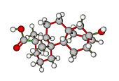 Molecular structure of steviol