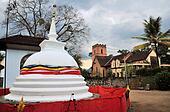 Church near Buddhist Temple, Kandy, Sri Lanka