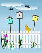 birdhouse vigil