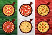 Italian pizza flavors