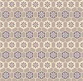 Retro cloth pattern
