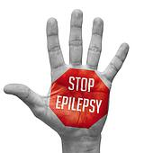 Stop Epilepsy on Open Hand.