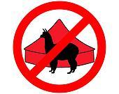 Alpaca in circus prohibited