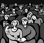 People in Cinema.