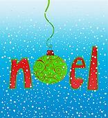 Noel in Snowflakes
