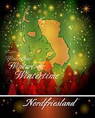 Map of Nordfriesland