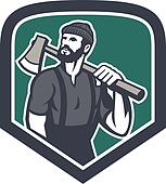 Lumberjack Clip Art - Royalty Free - GoGraph