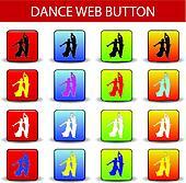 dance web button