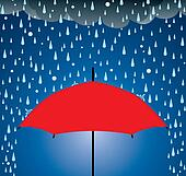 umbrella protection from rain and hail