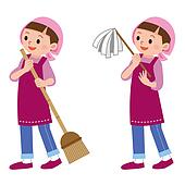 Women to clean