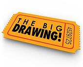 The Big Drawing Raffle Ticket Contest Entry Win Big Luck