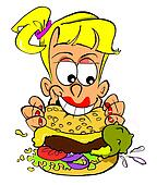 Burger Girl.WBG.