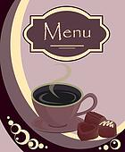 Vector design for coffee house