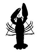 Crawfish silhouette