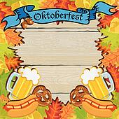 Oktoberfest Party Frame Invitation