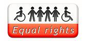 equal rigts button