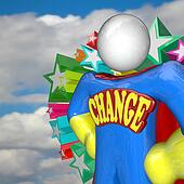 Change Superhero Looks to Future of Changing and Adapting
