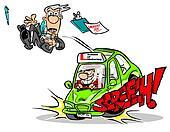 Driving test.WBG.