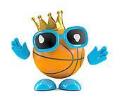 3d king basketball