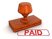 Rubber Stamp Paid