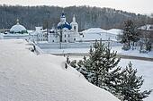 Ioanno-Vvedensky monastery. Priirtyshsky. Russia