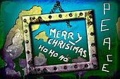 greeting merry christmas ho ho ho