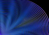Dispersing concentric circles