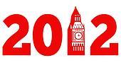 London Big Ben Clock Tower 2012