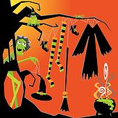 Witch's Clothesline