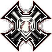 Baseball Softball Bats Graphic Vect
