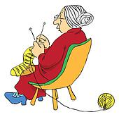 Elderly Stock Illustrations - Royalty Free - GoGraph