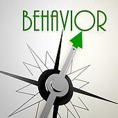 Behavior on green compass