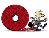 Red tape.WBG