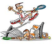 Tennis net.WBG.