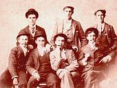 1890s MALE GROUP PHOTO