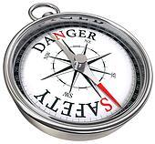 danger vs safety opposite ways