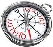 quality quantity concept compass
