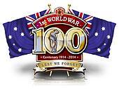 100 Years Flag Aus1