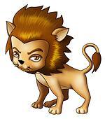 Airbrushed Leo