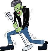 Retro Rockin Frankenstein